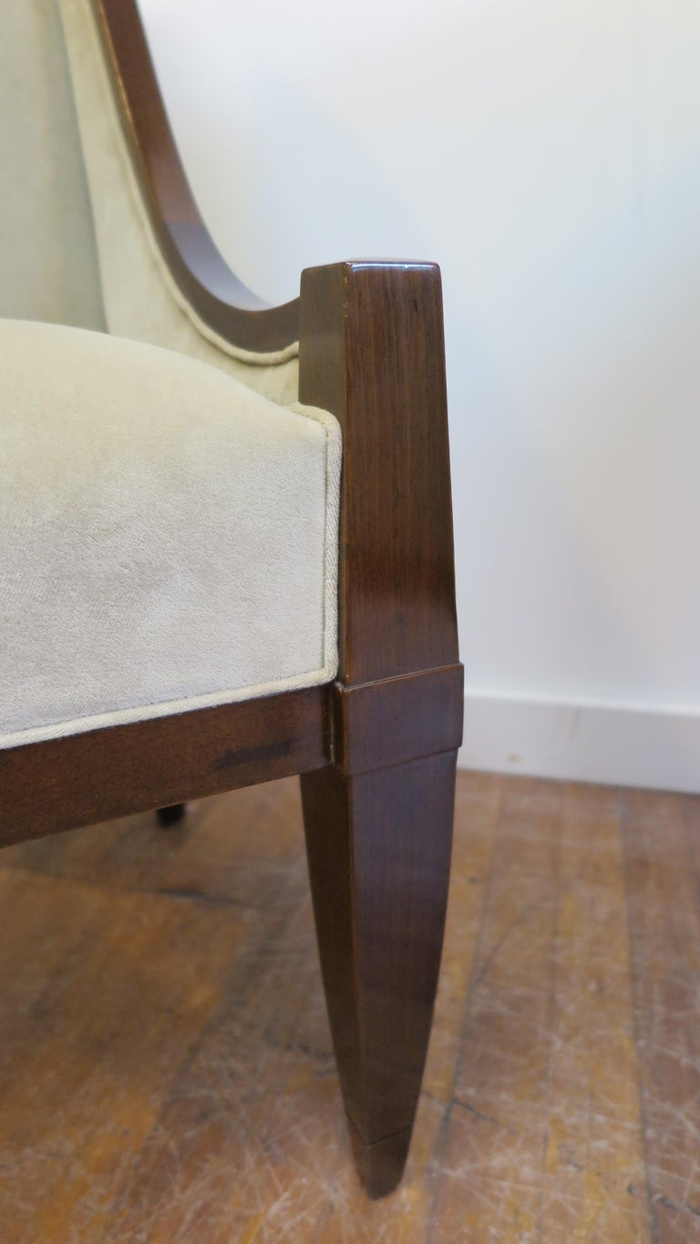 Pair of Chairs by André Sornay In Good Condition For Sale In New York, NY