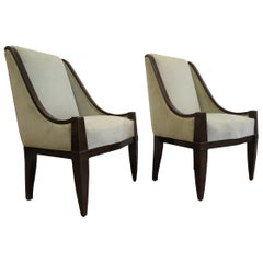 Pair of Chairs by André Sornay