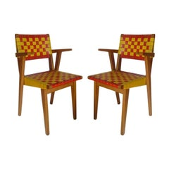 pair of chairs by J. RISOM