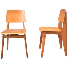 Pair of Chairs by Jean Prouvé