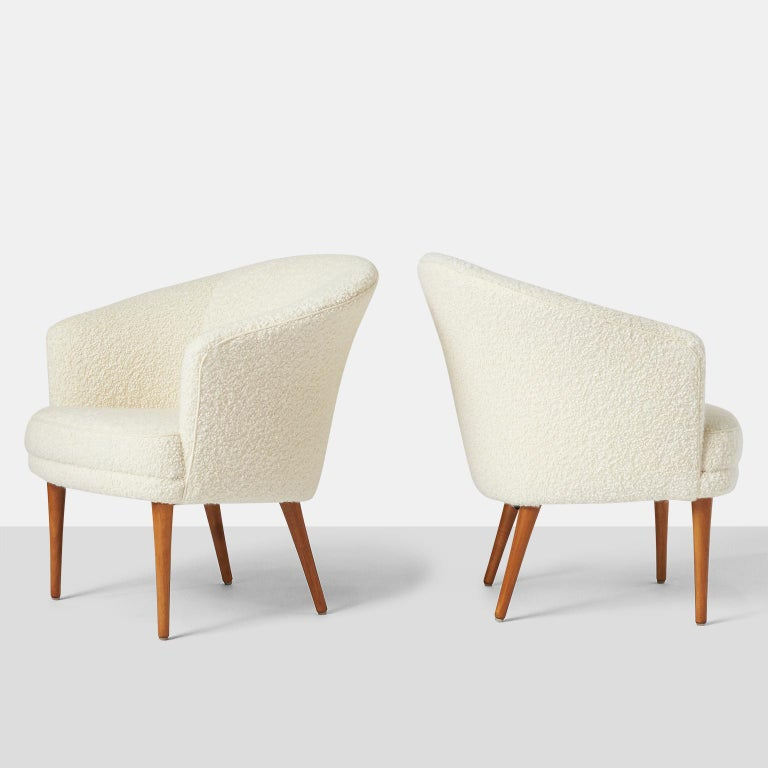 Pair of chairs by Kerstin Horlin Holmquist for Norkiska Kompaniet .