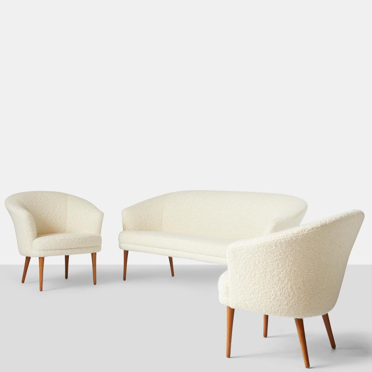 Pair of Chairs by Kerstin Horlin Holmquist for Norkiska Kompaniet For Sale 2