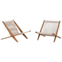 Pair of Chairs by Poul Kjærholm & Jørgen Høj
