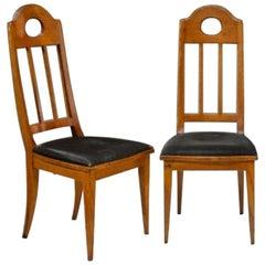 Pair of Chairs by R. Riemerschmid
