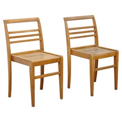 Pair of Chairs by Rene Gabriel Wood, circa 1940