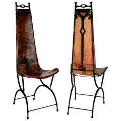 Pair of Chairs by Sido and François Thevenin, circa 1970, France