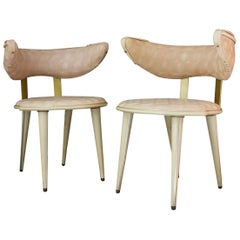 Pair of Chairs by Umberto Mascagni, Italy, Mid-20th Century