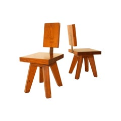 Pair of Chairs, circa 1960, France