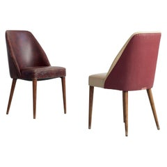 Pair of Chairs, Design and Manufacturing by Figli di Amedeo Cassina