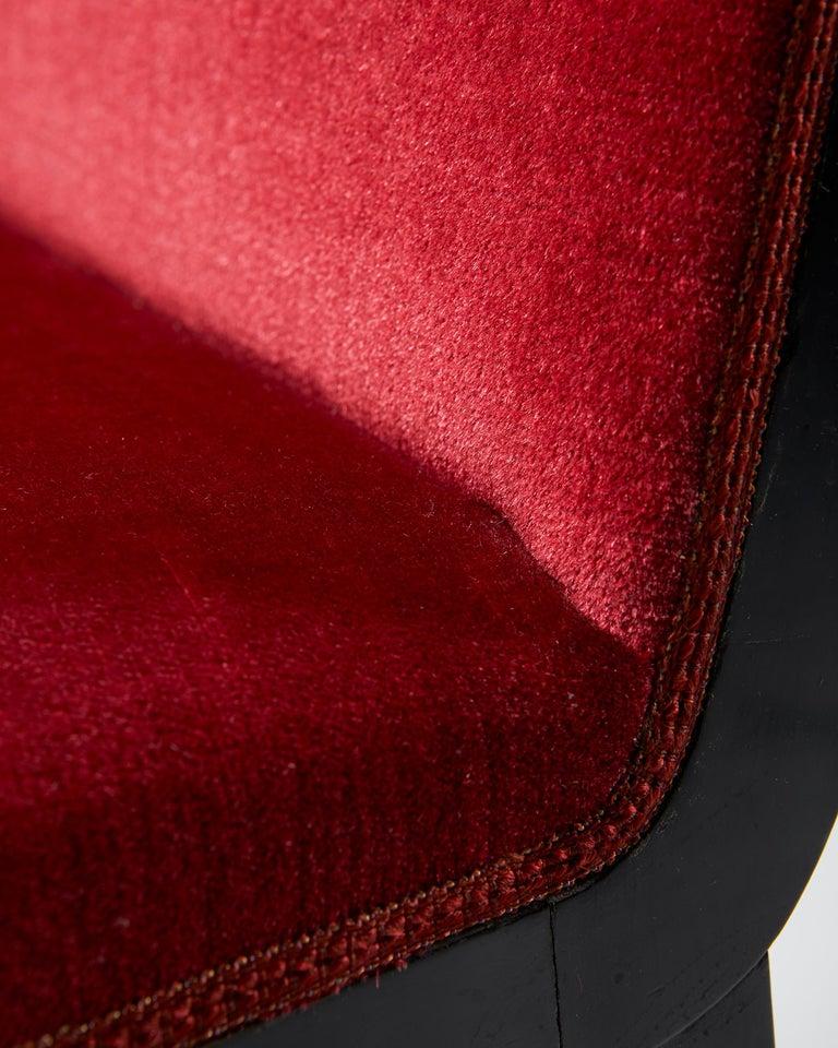 Pair of Chairs Designed by Alvar Andersson for Hyresgästernas Möbelaffär For Sale 4