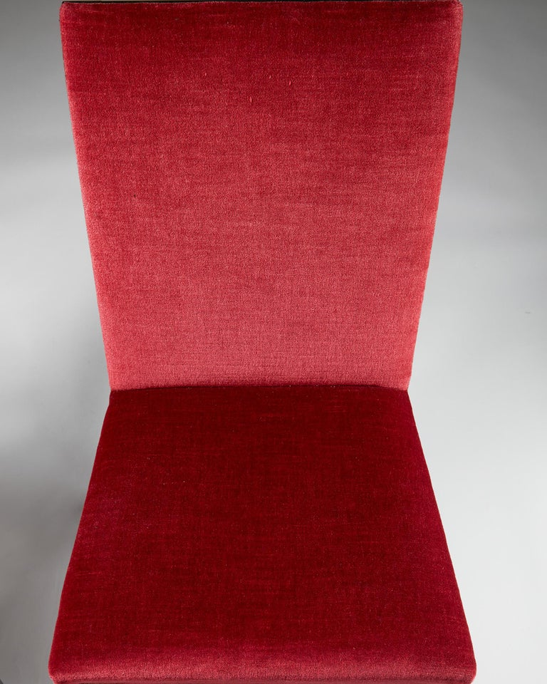 Pair of Chairs Designed by Alvar Andersson for Hyresgästernas Möbelaffär For Sale 1