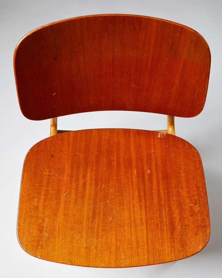 Pair of Chairs Designed by Börge Mogensen, Denmark, 1960's For Sale 3