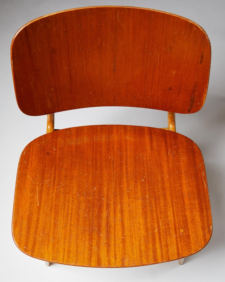 Pair of Chairs Designed by Börge Mogensen, Denmark, 1960's For Sale 2