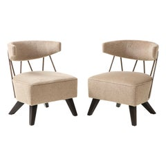 Pair of Chairs in the Style /Attributed to Billy Haines