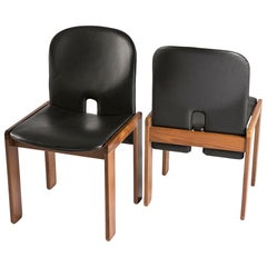 Pair of Chairs Model 121 by Afra & Tobia Scarpa for Cassina