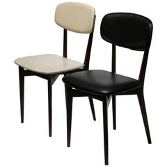 Pair of Chairs Model 691 by Ico Parisi for Cassina