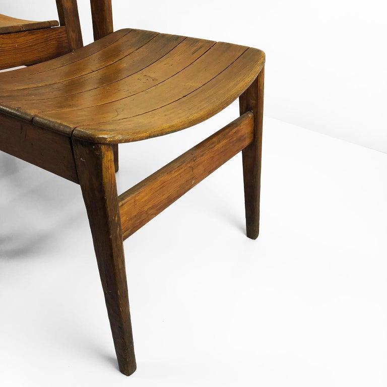 Mid-Century Modern Pair of Chairs Model Pine 500 by Michael Van Beuren For Sale