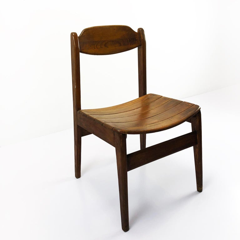 Mexican Pair of Chairs Model Pine 500 by Michael Van Beuren For Sale