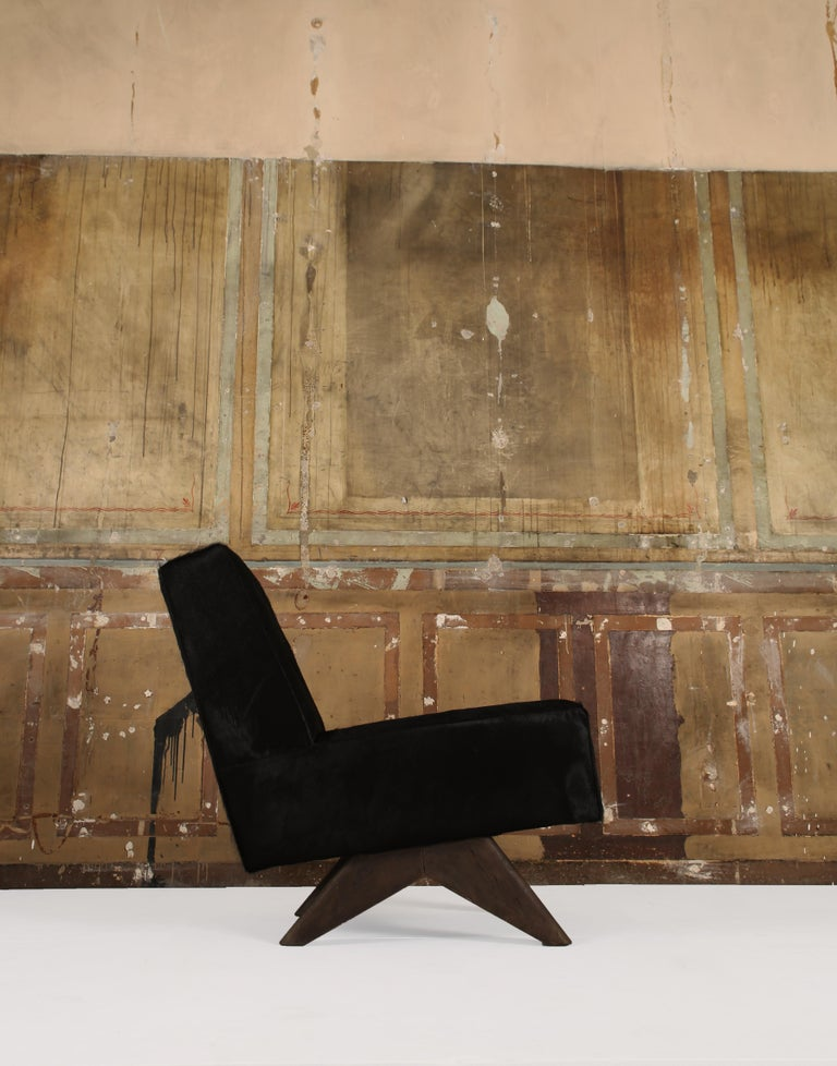 Mid-Century Modern Pair of Chairs PJ-SI-36-A, Pierre Jeanneret For Sale