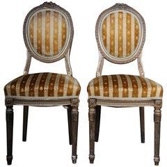 Pair of Chairs St. Petersburg, Russia circa 1910 Jakob & Iosif Kone