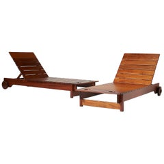 Pair of Chaise Lonuges by Sergio Rodrigues