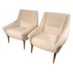 Pair of Charles Ramos Armchairs