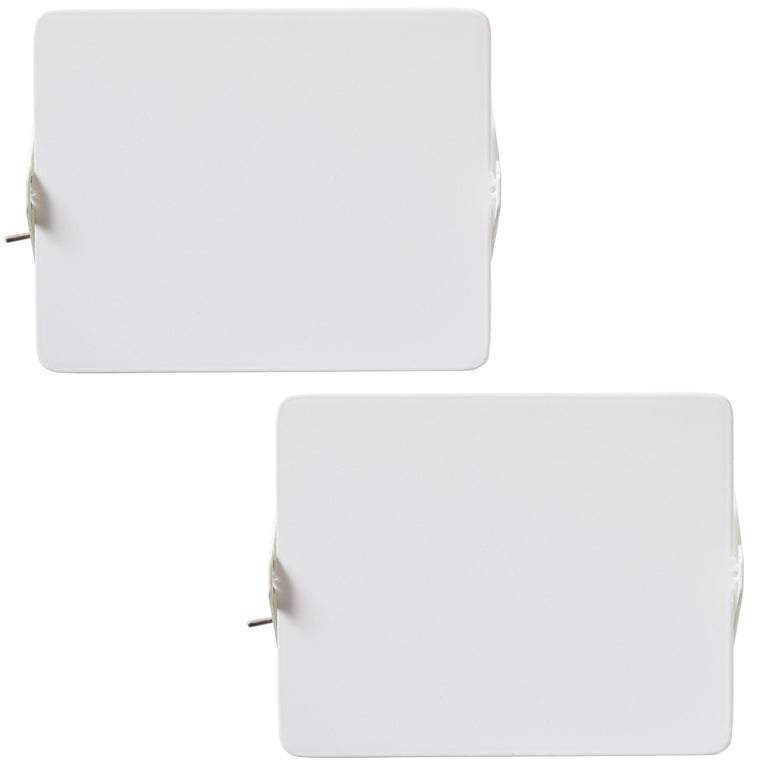 Pair of Charlotte Perriand 'Applique à Volet Pivotant' Wall Lights in Black For Sale 8
