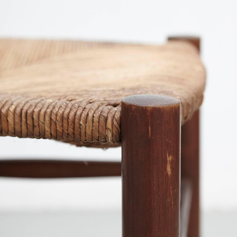 Mid-20th Century Pair of Charlotte Perriand Chairs, circa 1950 For Sale