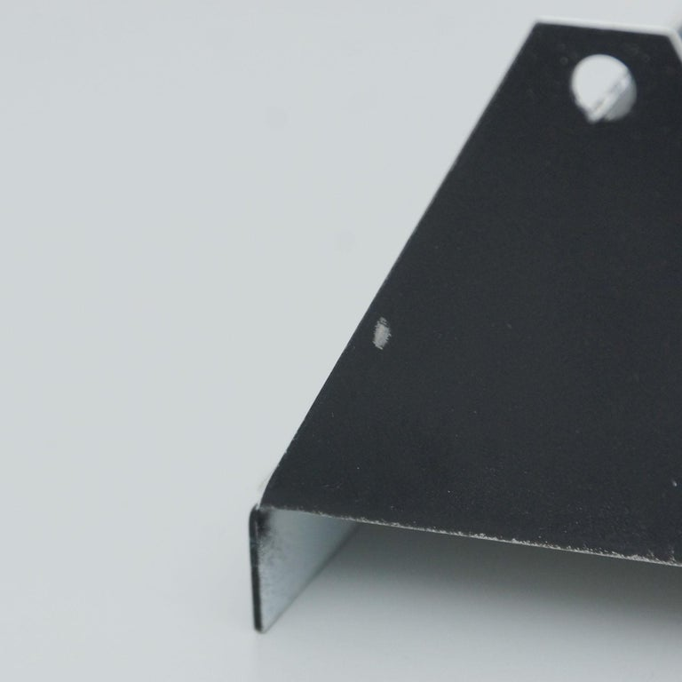 Pair of Charlotte Perriand Mid-Century Modern Black Metal CP-1 Wall Light, 1960 For Sale 7