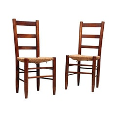 Pair of Charlotte Perriand Nº 19 Chairs