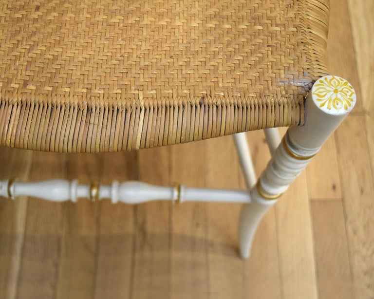 Pair of Chiavari Chairs In Good Condition For Sale In New York, NY