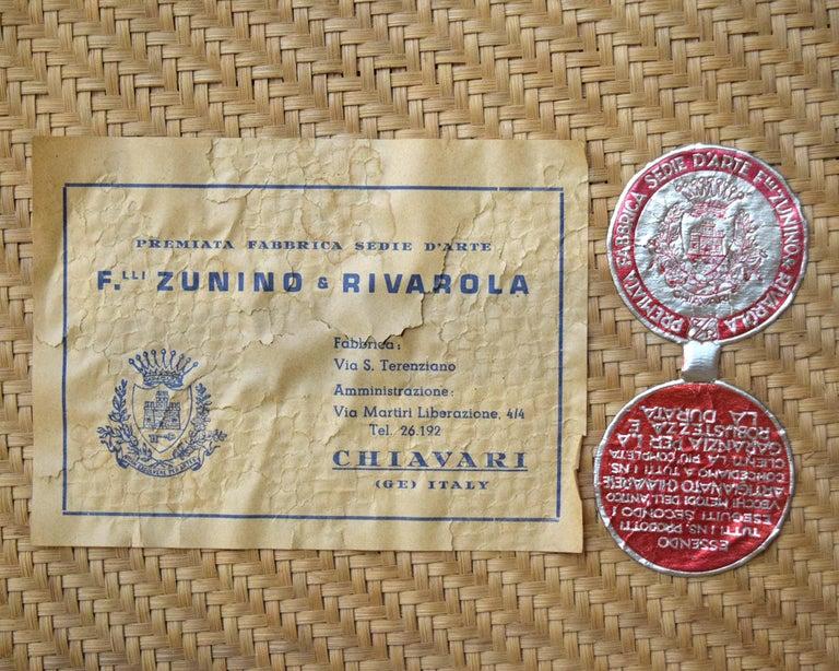 20th Century Pair of Chiavari Chairs For Sale