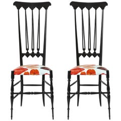 Pair of Chiavari Chairs Model Spada