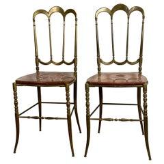 Pair of Chiavarina Chairs