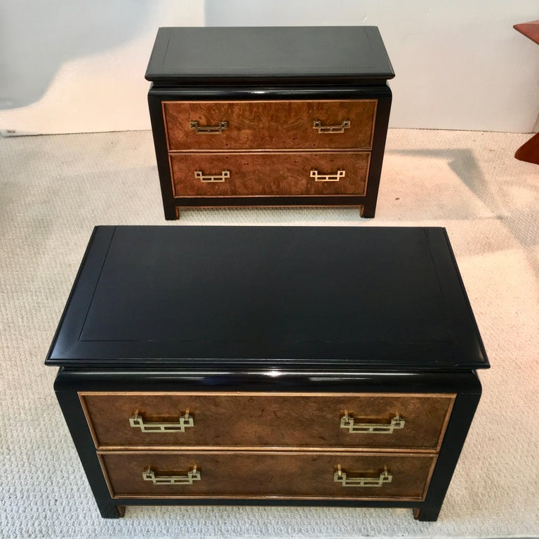 Pair of Chin Hua Two-Drawer Chests by Ray Sabota for Century Furniture For Sale 6