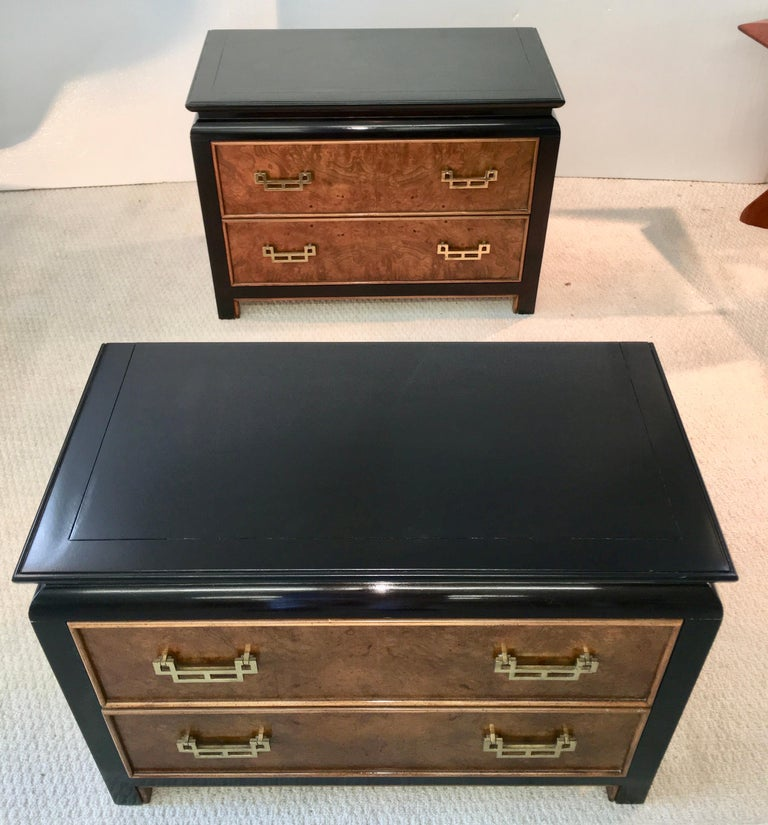 Pair of Chin Hua Two-Drawer Chests by Ray Sabota for Century Furniture For Sale 7