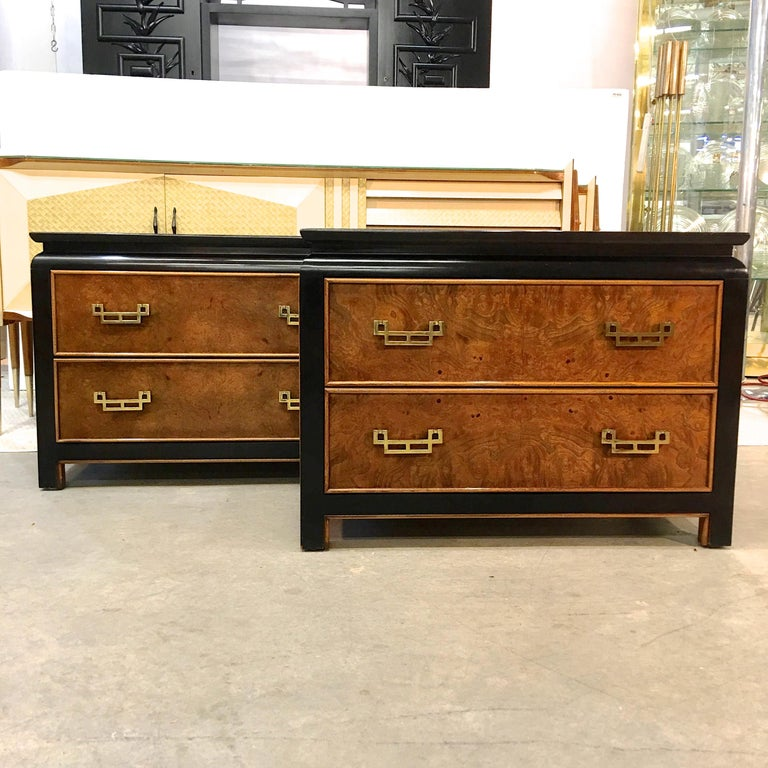 Pair of Chin Hua Two-Drawer Chests by Ray Sabota for Century Furniture For Sale 8