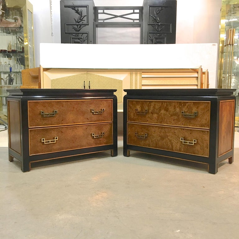 Pair of Chin Hua Two-Drawer Chests by Ray Sabota for Century Furniture For Sale 9