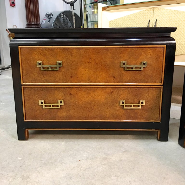 Pair of Chin Hua Two-Drawer Chests by Ray Sabota for Century Furniture For Sale 10