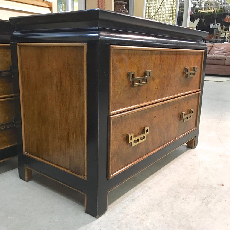 Pair of Chin Hua Two-Drawer Chests by Ray Sabota for Century Furniture For Sale 11