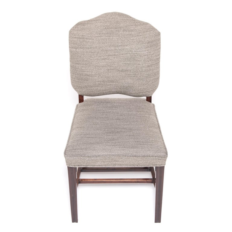 Pair of Chinese Art Deco Dining Chairs, circa 1920-1930s For Sale 1