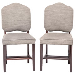 Pair of Chinese Art Deco Dining Chairs, circa 1920-1930s