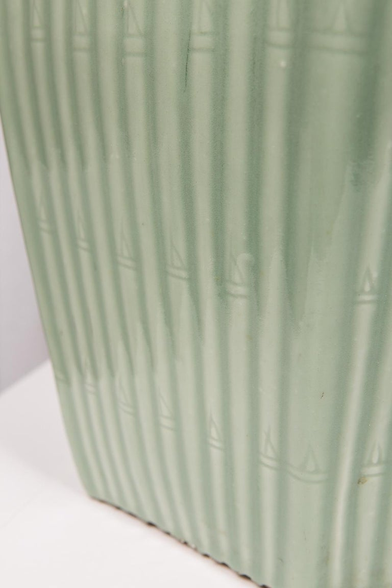 20th Century Pair of Chinese Celadon Garden Seats  For Sale
