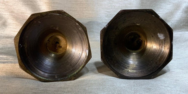 Pair of Chinese Cloisonné Candleholders For Sale 6