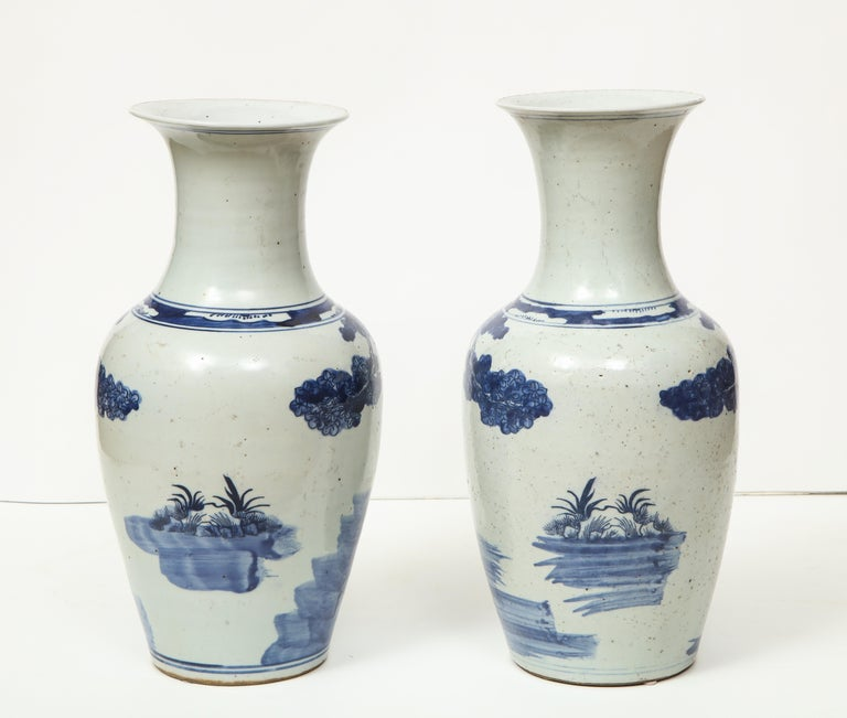 Pair of Chinese Export Vases For Sale 6