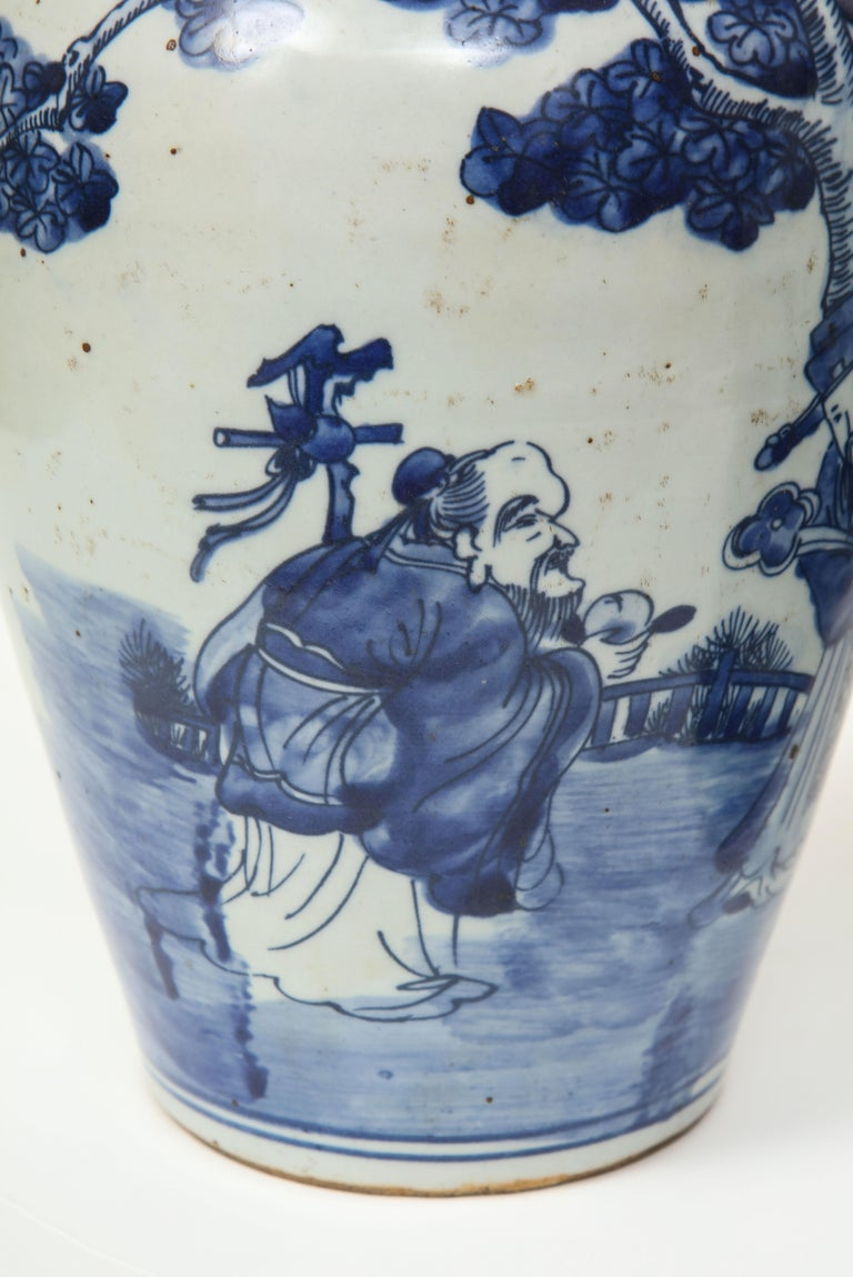 Pair of Chinese Export Vases For Sale 1