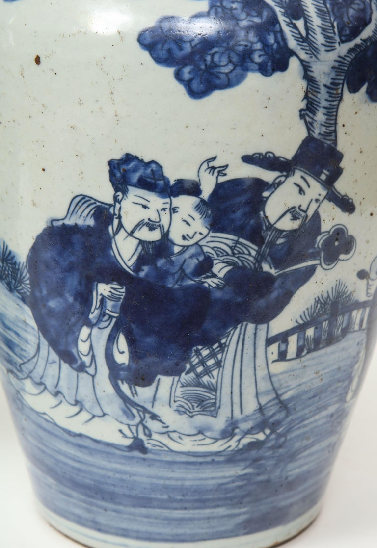 Pair of Chinese Export Vases For Sale 3
