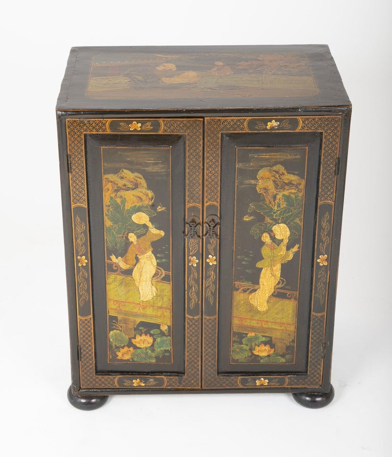 Pair of Chinese Low Cabinets For Sale 7
