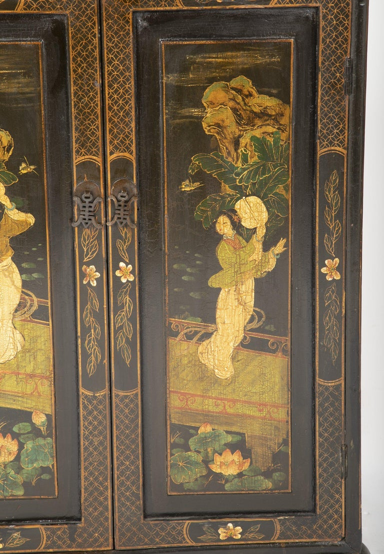 Pair of Chinese Low Cabinets For Sale 8