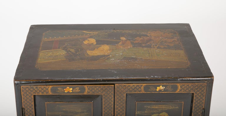 Pair of Chinese Low Cabinets For Sale 2